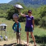 Hang handpan UFO alien